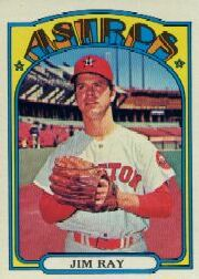1972 Topps Baseball Cards      603     Jim Ray